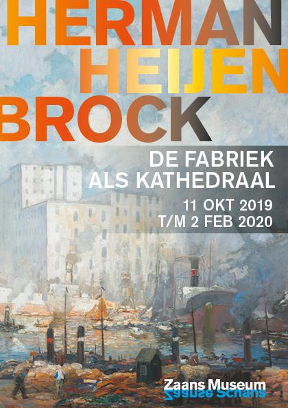 Campagnebeeld tentoonstelling Herman Heijenbrock
